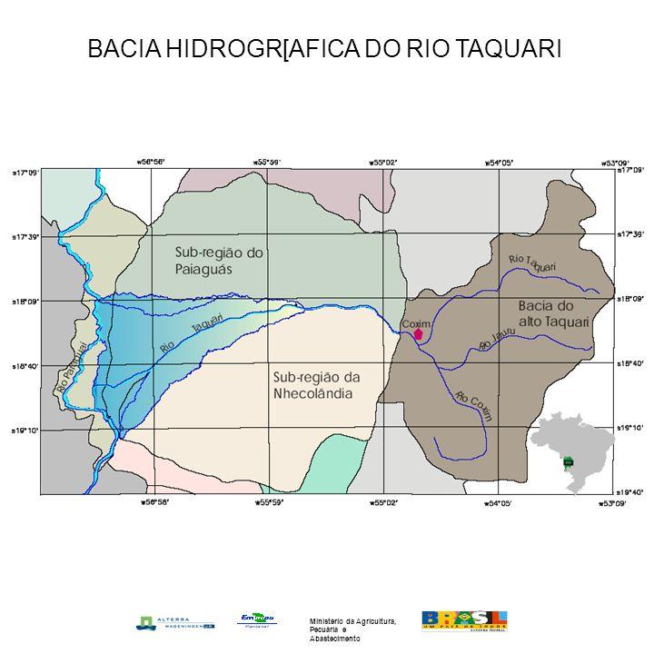 BACIA HIDROGR[AFICA DO RIO TAQUARI